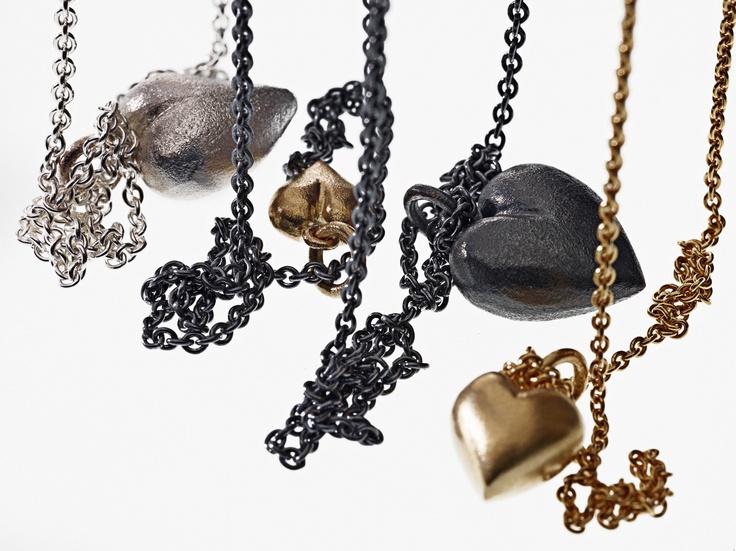 My hearts! #goldheart #guldhjerte #MilasJewellery #alliwantforchristmas