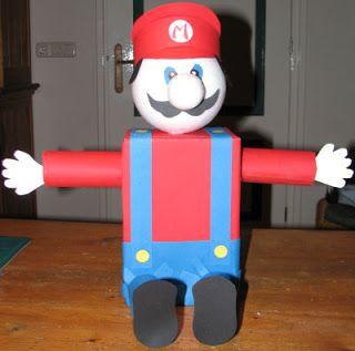 Alma's Design: Suprise Super Mario