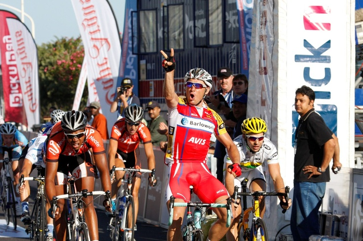 Robert Hunter - men's winner of the 2008 Cape Argus Pick n Pay Cycle Tour