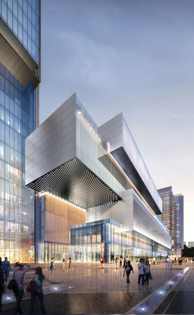 Renhe Spring Mixeduse Development Aedas Architecture