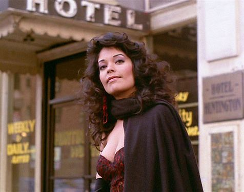 Apollonia Kotero in Prince's Purple Rain. I'm obsessed with her hair!!!