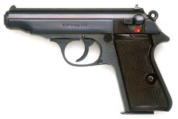 Post-war Walther PP pistol made in East Germany. Find our speedloader now! http://www.amazon.com/shops/raeind