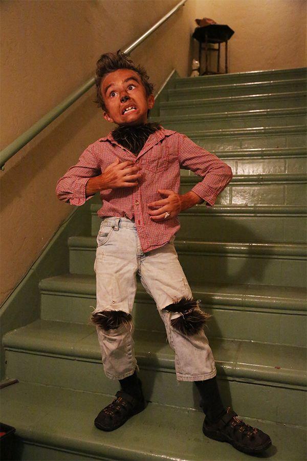 homemade warewolf costume halloween masksscary - Homemade Scary Halloween Costume Ideas
