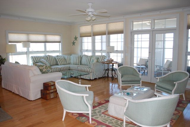 Living Room Great Rooms On Pinterest Beach Cottages Coastal Living