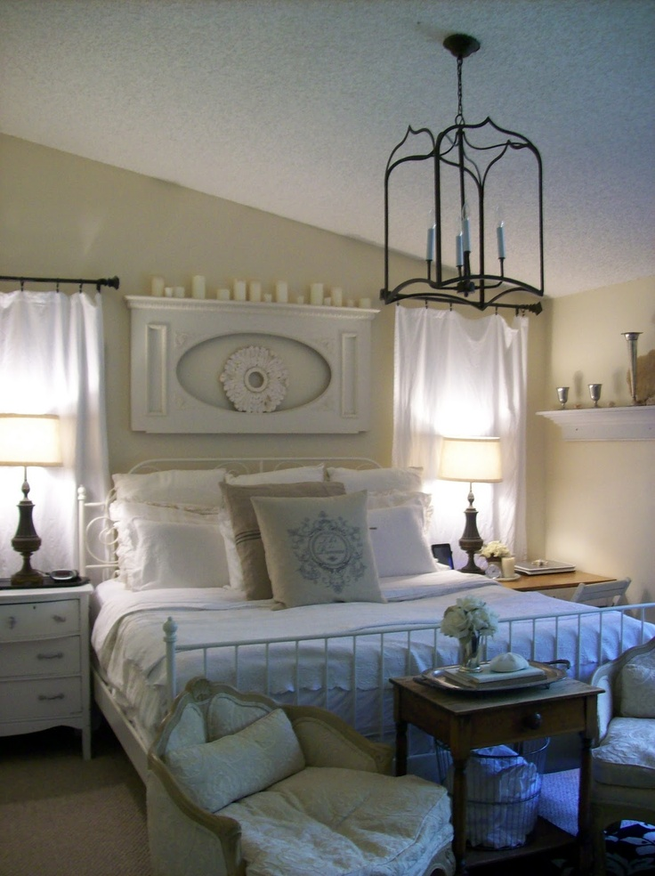 Pretty neutral bedroom (from The Pineapple Room)