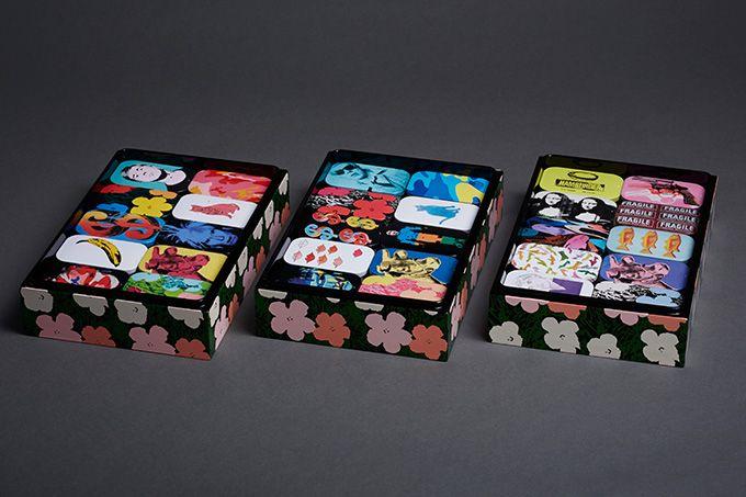 「アンディ・ウォーホル×のど飴」、30種のアート缶が登場 - 54万円、限定30個の特別ボックスも発売 | ニュース - ファッションプレス