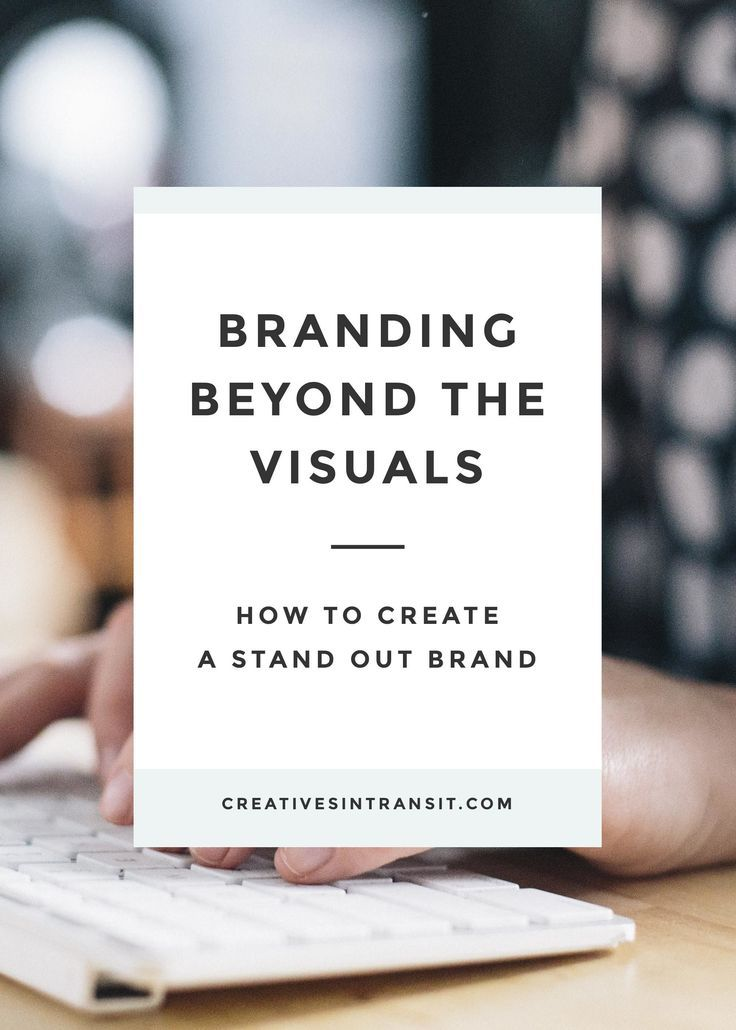 Branding Beyond the Visuals. Your brand is more than a logo, font, and color choice. Your brand is about how you make people feel and react. Learn to brand your business with your copy and strategy.