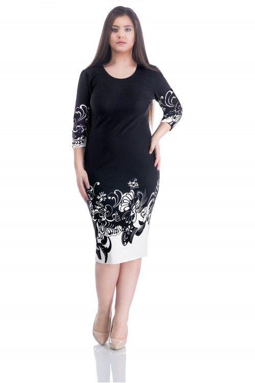 O rochie simplista si de efect disponibila pe masuri mari.