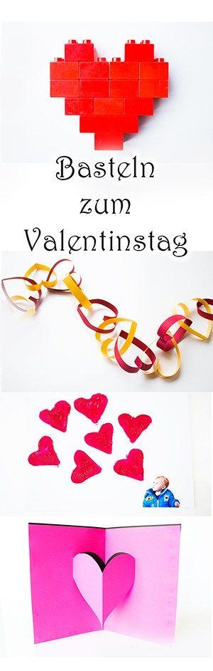 Basteln Mit Kindern Zum Valentinstag