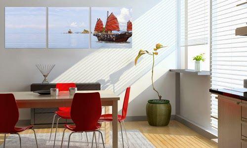 decoracion de pared con imagenes