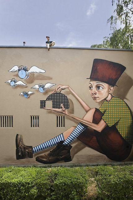 TIME CATCHER, by Lonac, Zagreb