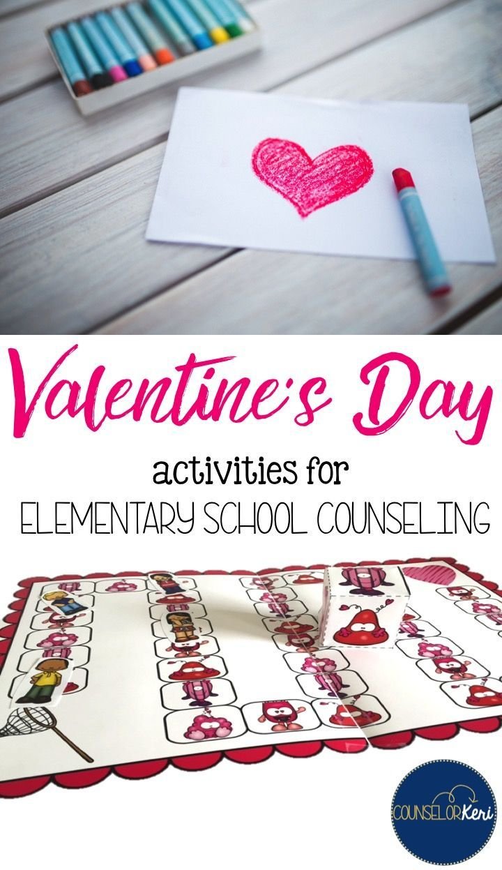 valentine's day resources for elementary school counselors! classroom guidance lessons, activities, games, printables, and more!