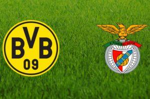 Prediksi Skor UCL Borussia Dortmund vs Benfica  9 Maret 2017