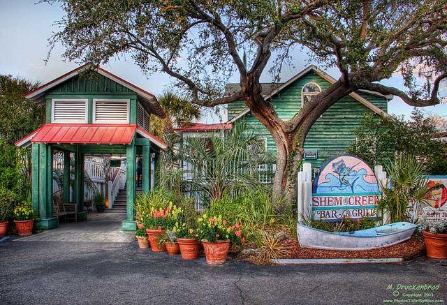 Carefree Boat Club 11 Dockside Restaurants in Charleston