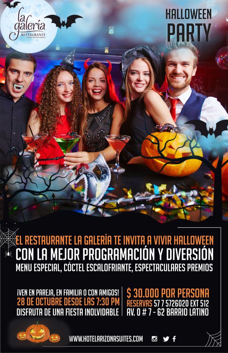 ¿Ya hiciste tu Reserva para el #HalloweenParty? aun estas a tiempo! disfruta de esta espectacular fiesta con tu #Familia, #Amigos o en #Pareja tenemos show musical, menú especial, cóctel de bienvenida y premios, $30.000 por persona no olvides tu disfraz !! Av 0 # 7 - 62 Barrio latino #Cucuta #Colombia Tel: 57 7 5726020 Ext 512