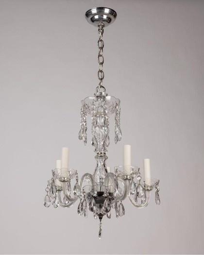 33 best cliffwood images on pinterest chandeliers candelabra and vintage glass chandelier aloadofball Images