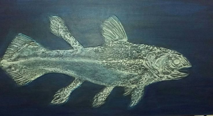 Coelacanth 3D by Shell Shaw