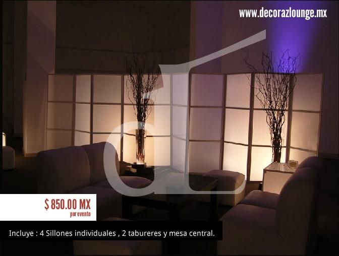 Sala lounge Para 6 personas