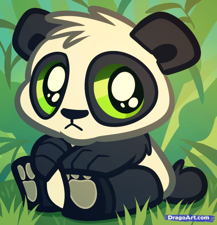 Animated anything can make anything I see amazing! Animals are just as cute like this panda!