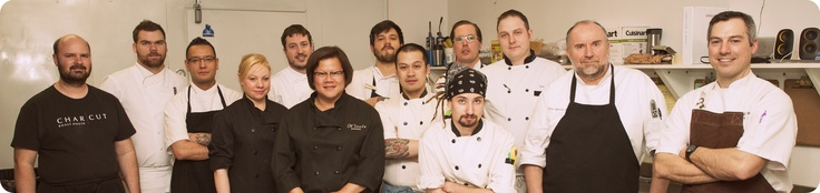The Alberta Ate Chef Collaborative at their first event: Tasting Terroir - Alberta's Aboriginal Appeal