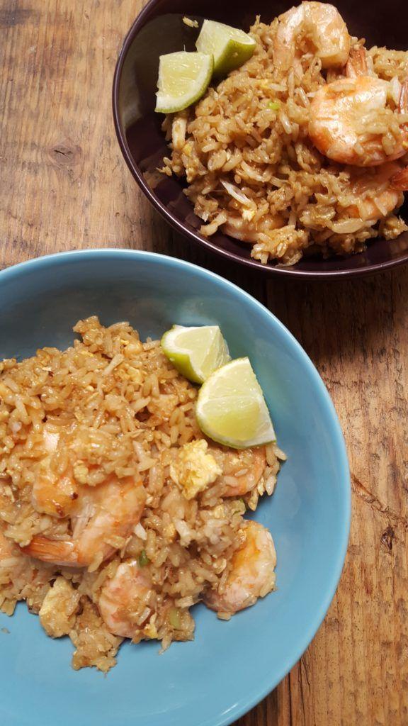 Thaise gebakken rijst met krab recept foodblog Foodinista @foodblogs