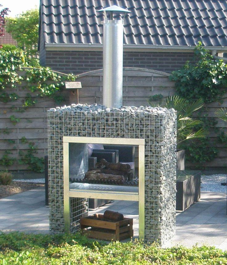 De blokhaard bbq is een schitterende haard die ook geschikt is voor de wat kleinere tuin hij - Arbor pergola goedkoop ...