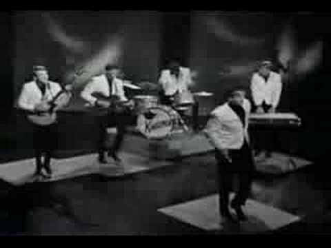 In 1963 - the Kingsmen released their now classic song 'Louie Louie' - here they are preforming it live on Shindig.