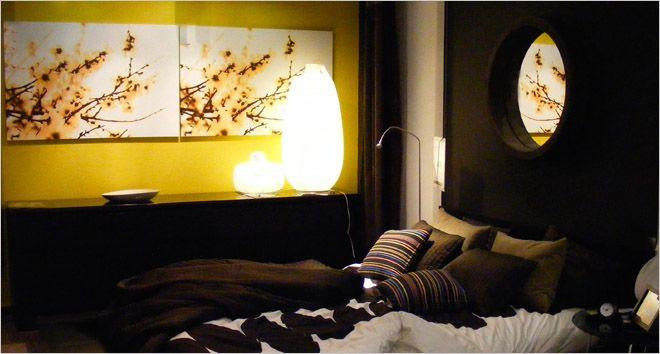 slaapkamer donkere kleuren