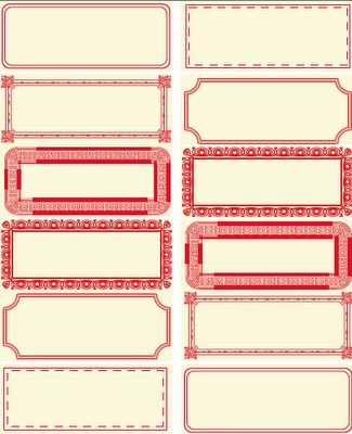 Free downloadable labels