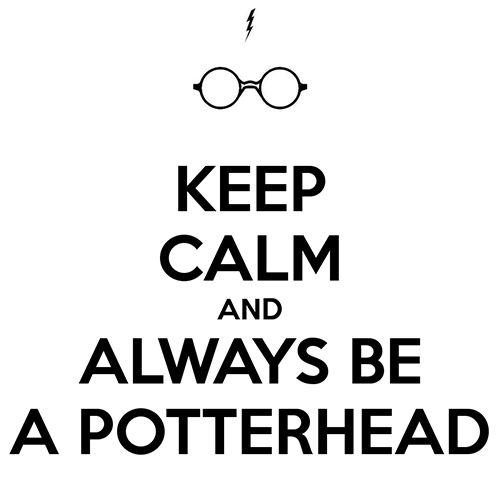 Always keep true my dear Potterheads.✌