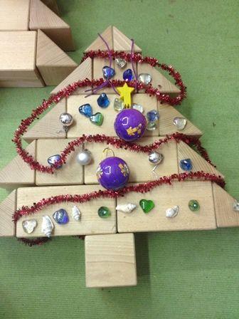 kerstboom bouwhoek