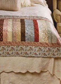 "The Great Lakes Seaway Trail - War of 1812 Quilt Blog: ""Bed Runners"" = Easy 1812 Quilts!"