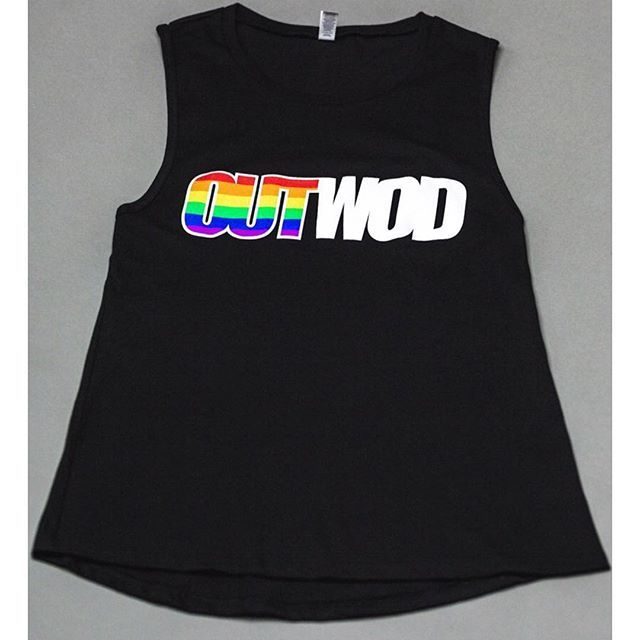 b6a9b9e8 Dropping a new PRIDE muscle tank click the tag to shop! | #outwod #apparel  #tshirt #pride #pridetee #lgbtqpride