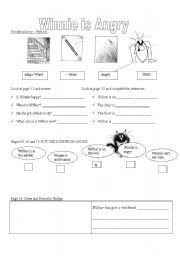 English worksheet: Exercises on Winnie the Witch