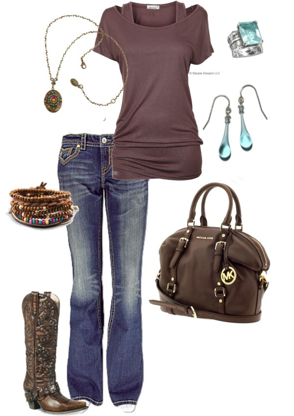 """""""Mocha Dream"""" by bbricker39 ❤ liked on Polyvore not the boots for me"""