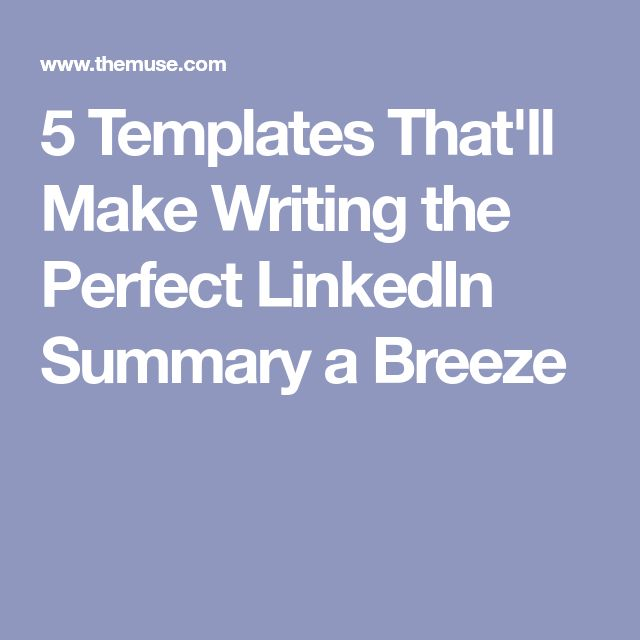 The 25+ best Linkedin summary ideas on Pinterest Resume, Job - how to write a resume summary that grabs attention