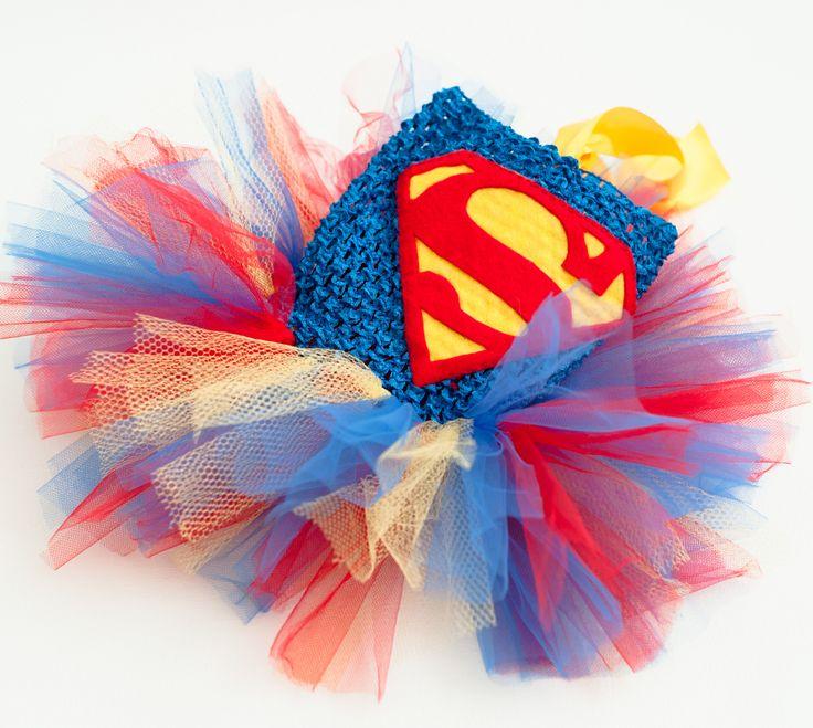 Superman tutu dress Superhero costume
