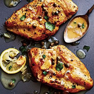 Chicken Piccata | CookingLight.com