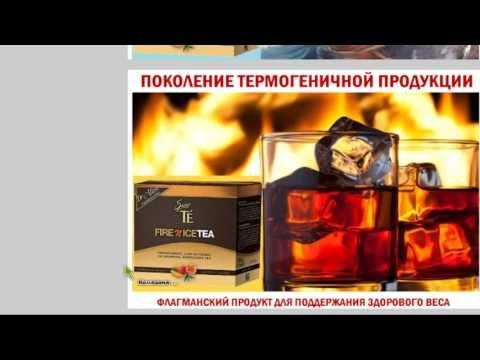 Лед и Пламя FIRE & ICE TEA Поколение термогенной продукции