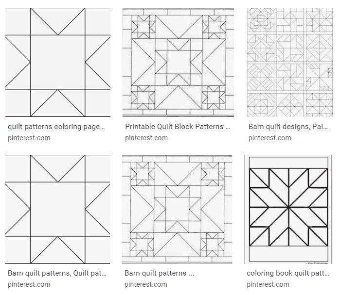 Quilt Block Patterns For Coloring Quilt Block Patterns Pattern Blocks Quilt Blocks