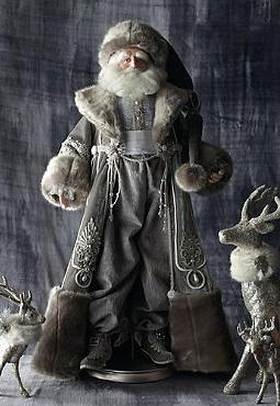 Boasting exceptional and sophisticated detail, the St. Nicholas Figure that will add elegant and vintage appeal to your Christmas collection.