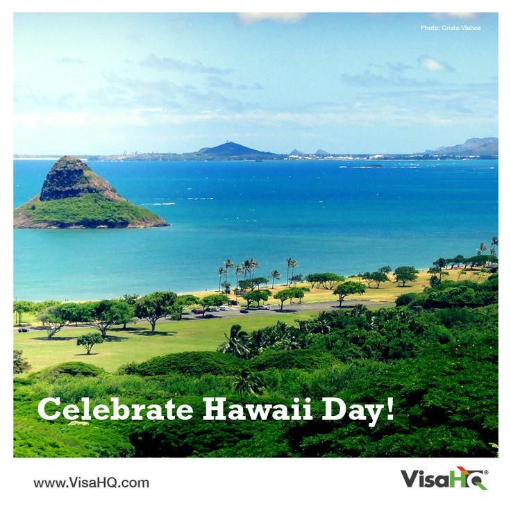 Today is Hawaii's Statehood Day - celebrate by booking a trip to the 50th state! Do you need a US visa? https://united-states.visahq.co.uk/