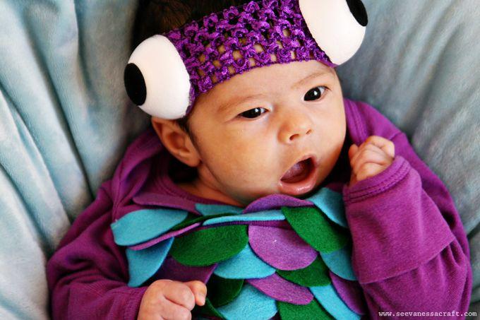 (20 crafty days of halloween) diy baby fish costume