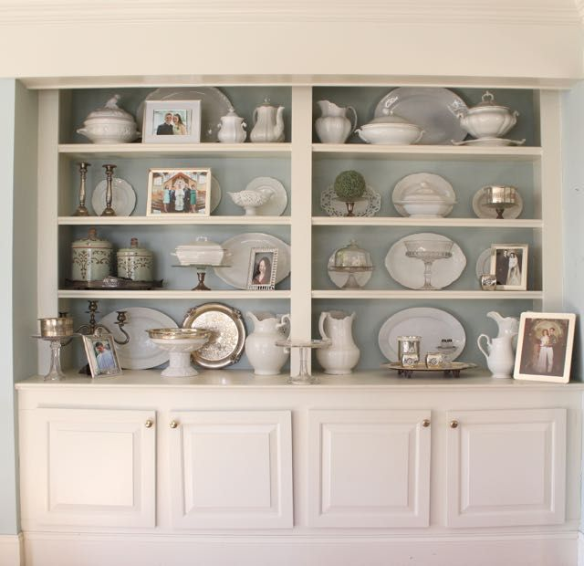 17 best images about shelves bookcase arrangements on for Do it yourself built in bookshelves