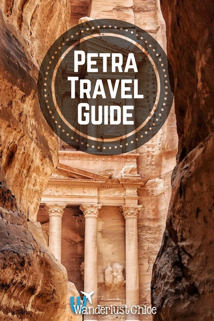 A Tour Of Petra. From visiting the Treasury to checking out the Monastery and finding the most beautiful viewpoints in Petra, Jordan, here's what to expect from your first visit! https://www.wanderlustchloe.com/petra-jordan-tour/