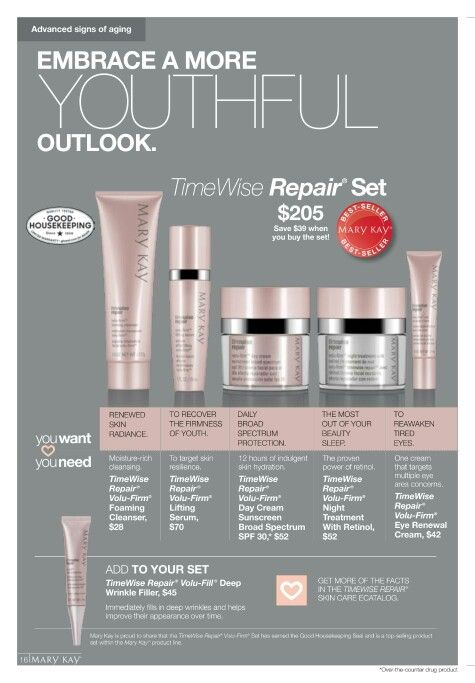 TimeWise Repair!!! Call/text 352-281-7944 or visit my website www.marykay.com/hdavis7763