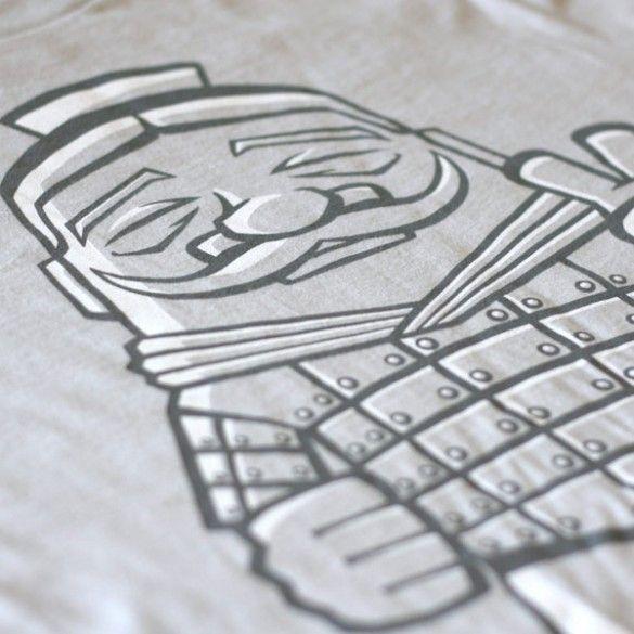 Terracotta Soldier Tee Design
