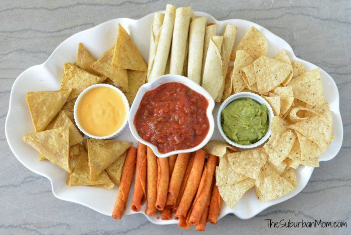 Perfect Game Day Party Platter Ideas from The Suburban Mom.