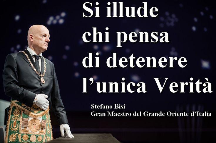 La Massoneria definisce i Cristiani degli illusi |———-> Stefano Bisi, il gran maestro del Grande Oriente d'Italia, la più grande e numerosa obbedienza massonica italiana, ha sc…