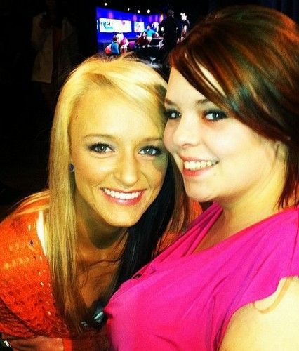 Teen Mom's Maci Bookout and Catelynn Lowell In The Hot Seat!